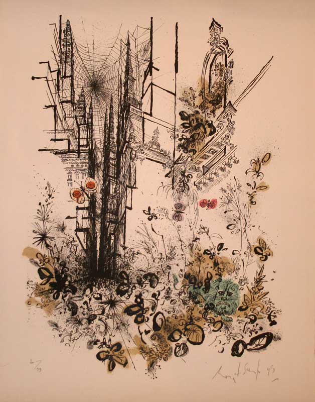 Ronald Searle - Second Eden