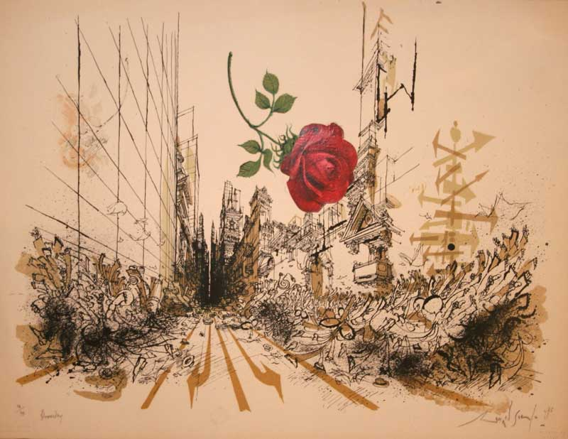 Ronald Searle - Bloomsday